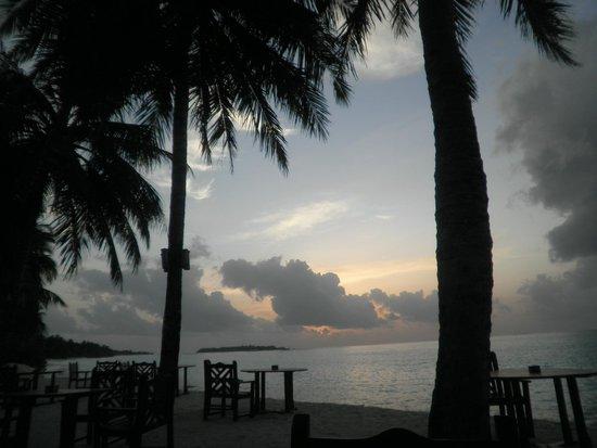 Sun Island Resort: View from the restaurant
