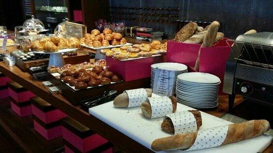 W Bangkok: Part of the breakfast buffet.