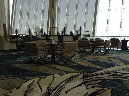 Jumeirah at Etihad Towers: Lobby Area