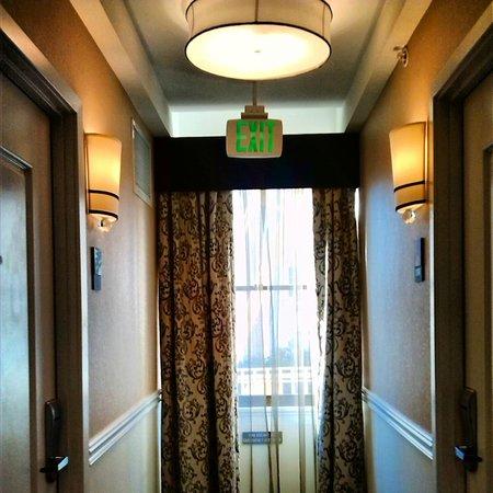 Wyndham Canterbury at San Francisco: Hallway