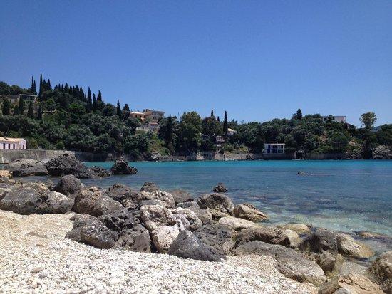 Paleokastritsa Beach : Snorkeling and scuba area