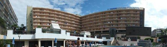 H·TOP Gran Casino Royal: Panoramic Hotel view