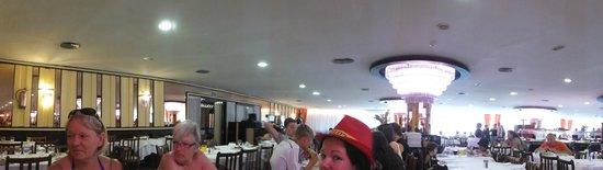 H·TOP Gran Casino Royal: Panoramic of the Dining Room