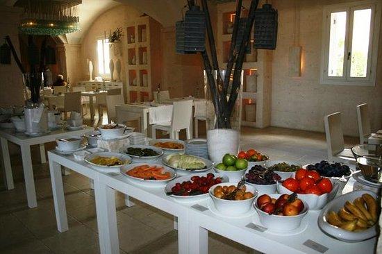 Borgo Egnazia : завтрак