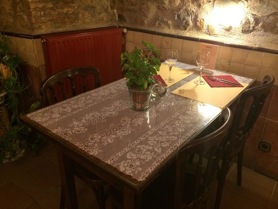 Restaurante Can Muni: Inside