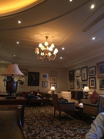 Mount Wolseley Hotel, Spa & Golf Resort: The lounge bar