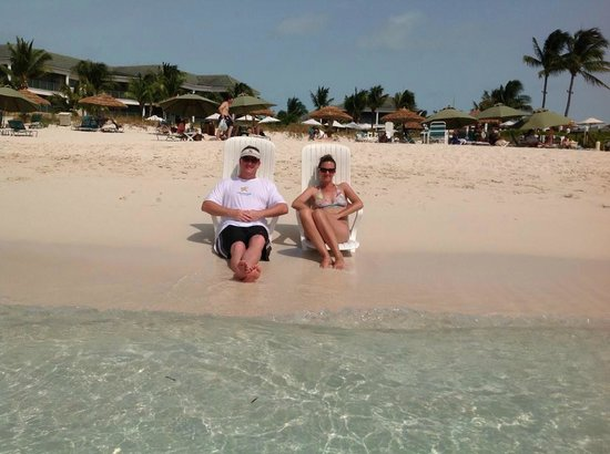 The Sands at Grace Bay: Lounging in on the beach