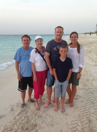 The Sands at Grace Bay: Family picture on the beach