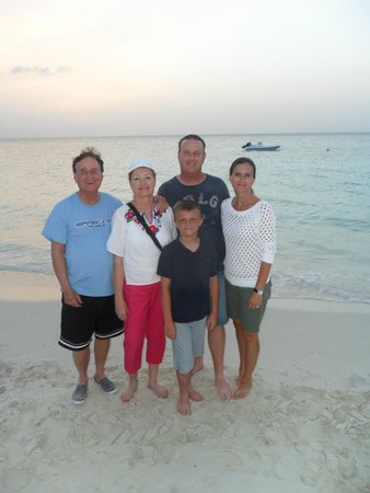 The Sands at Grace Bay: Family picture by the beach