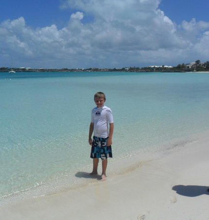 The Sands at Grace Bay: Enjoying the beach!