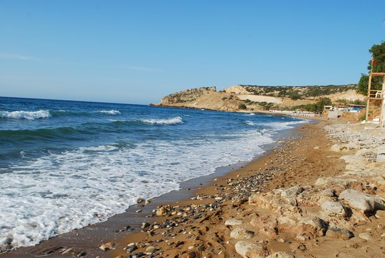 Scaleta Beach Hotel: Пляж отеля