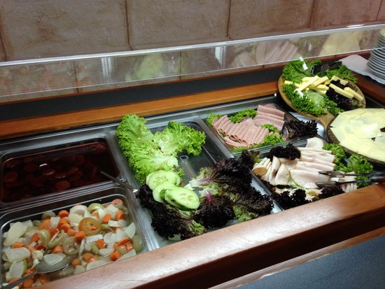 Alianthos Beach Hotel: Cheese, Ham and salad corner
