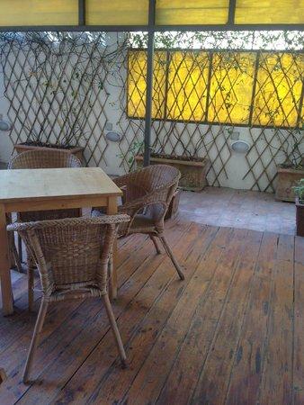 B&B La Gradiva : Terrace from the double room's window