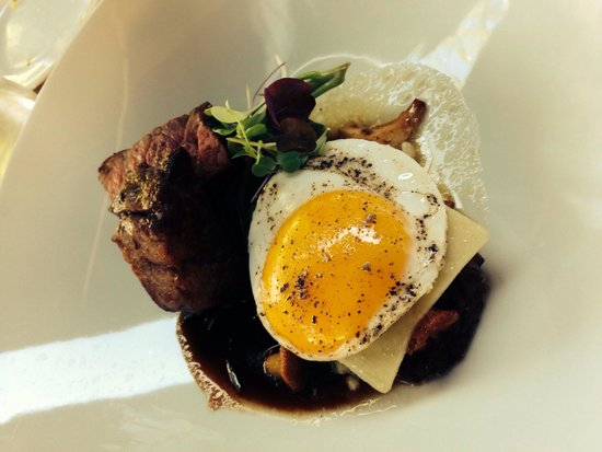 Trius Winery Restaurant: Beef tenderloin main