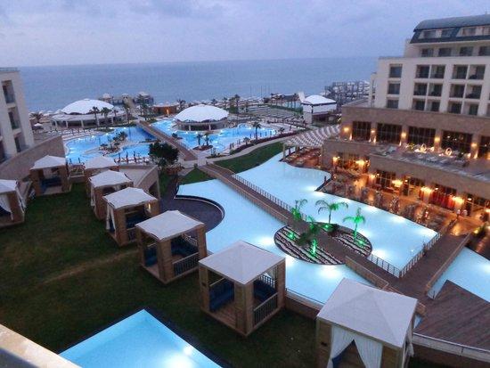 Hotel Riu Kaya Palazzo : раннее утро
