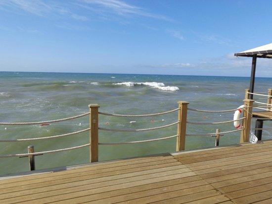 Hotel Riu Kaya Palazzo : на море