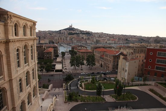InterContinental Marseille - Hotel Dieu : View from the room's private patio.