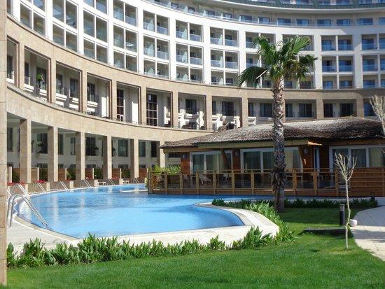Kaya Palazzo Golf Resort: вид на отель