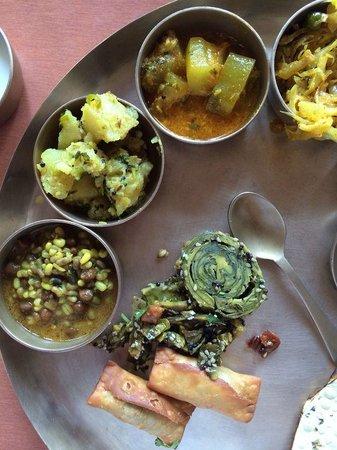 Mandap: yummy Gujarati food