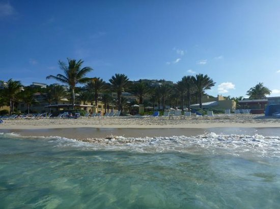 The Westin Dawn Beach Resort & Spa, St. Maarten : Beach