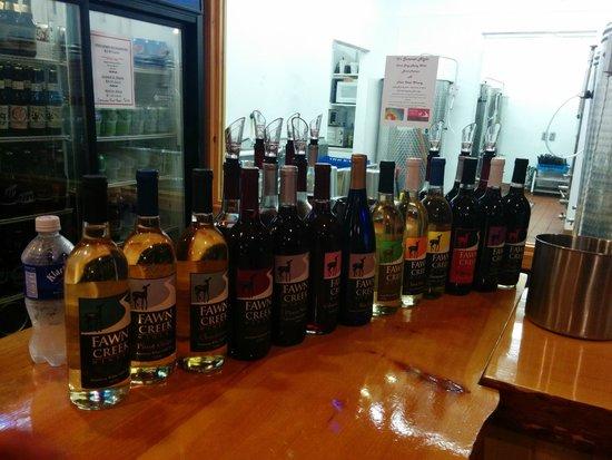 Fawn Creek Winery: The Wines of Fawn Creek