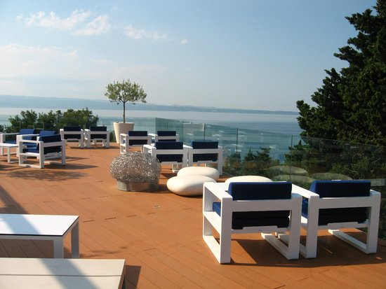 Radisson Blu Resort Split: terrasse