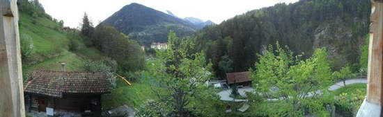 Pension Seminare Fontana: The view from our Balcony