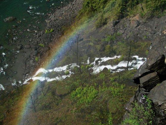 Snoqualmie Falls : Side Falls