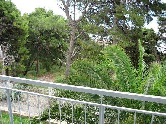 Radisson Blu Resort Split: vue à partir de chambres de l'ancienne aile