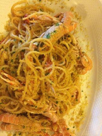 I Palmenti : Spaghettino principina o qualcosa del genere spettacolo!!!!!!!