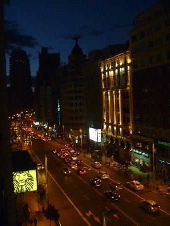 Emperador Hotel Madrid : Vista dalla camera