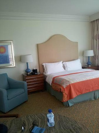 Atlantis, The Palm: The bed... nothing special