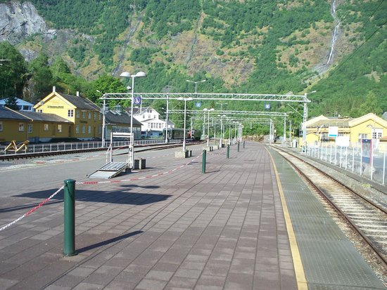 The Flam Railway : la stazione