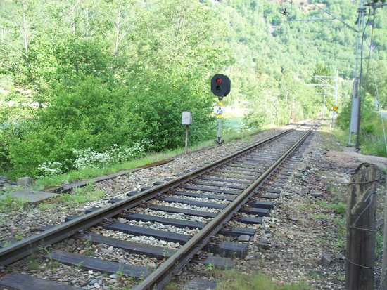 The Flam Railway : binario