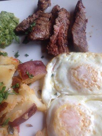 Jefe: Steak & Eggs