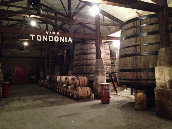 Bodegas Lopez de Heredia Vina Tondonia: Inside the winery