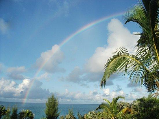 Gaulding's Cay: Rainbow off the Point