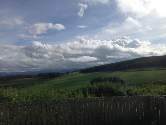 Perkhill Holiday Cottages : views from garden