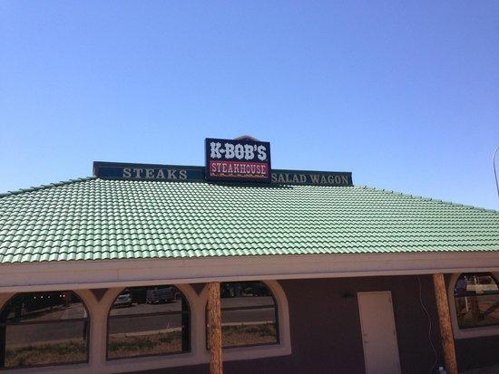 K-BOB'S Steakhouse : Outside