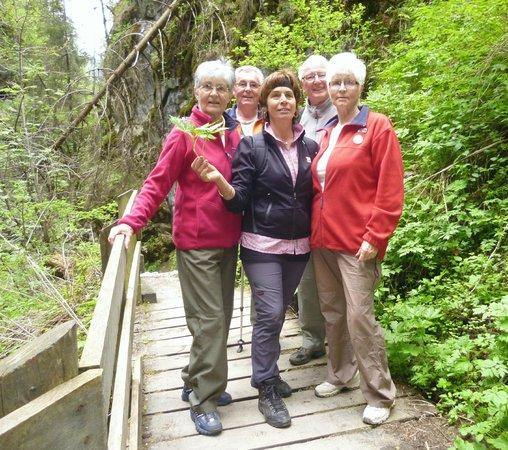 Hotel Sonklarhof: Wanderung in der Gilfenklamm