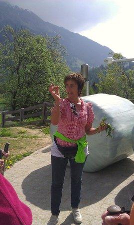 Hotel Sonklarhof: Helga die Kräuterfee