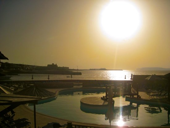Ramla Bay Resort: View from our room