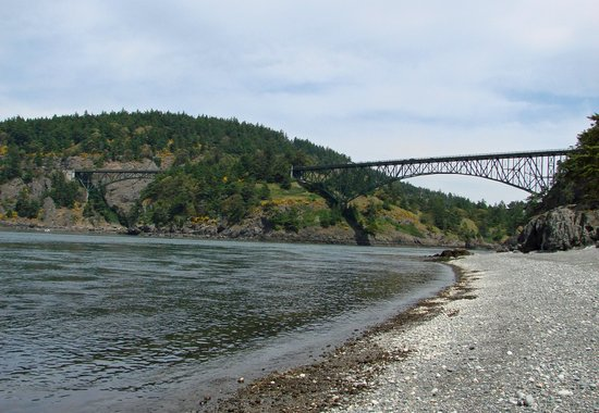 Deception Pass State Park: Deception Pass from the Shoreline