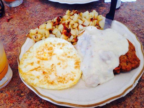 The Cottage Restaurant : Chicken fried steak!!!!