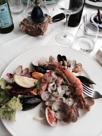 Torre Normanna Restaurant: Misto maree che bontà !