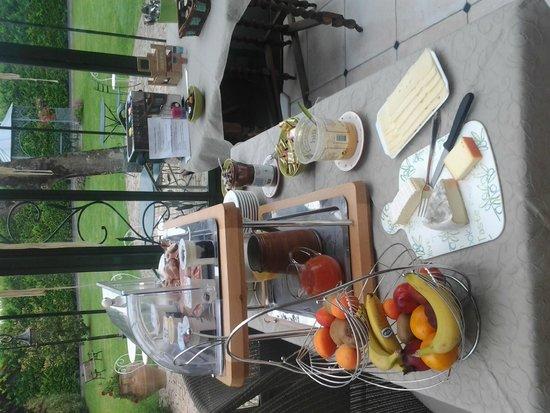 La Ramade Hotel de Charme: desayuno