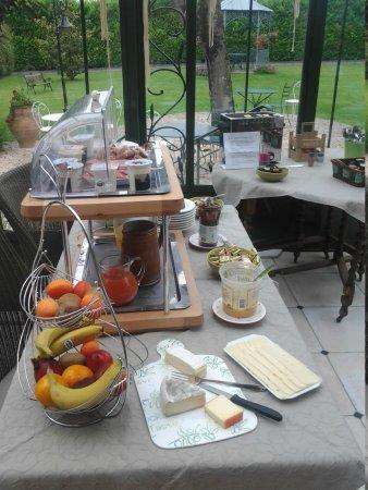 Hotel La Ramade : desayuno