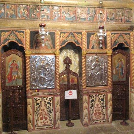 Sinaia Monastery: Inside the church