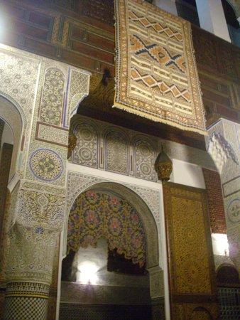 Médina de Fès : AUX MERVEILLES DU TAPIS - Carpet Riad
