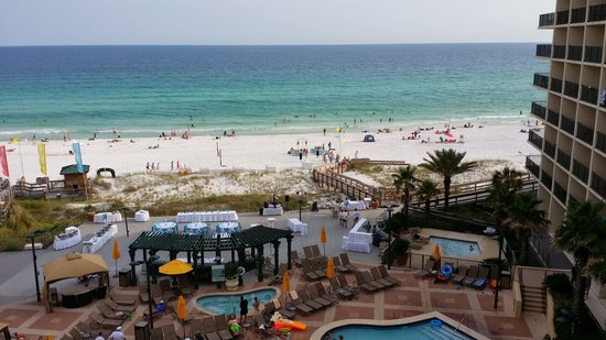 Hilton Sandestin Beach Golf Resort Spa View From The 6th Floor